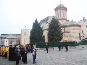 Procesiune cu Icoana Sfantului Antonie