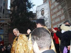 Procesiune la Biserica Sfantul Antonie - Curtea Veche