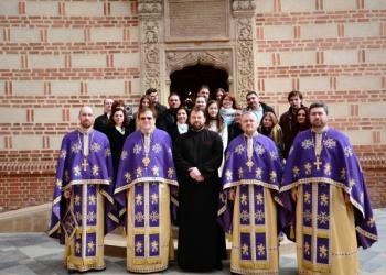 Corul Catedralei Patriarhale la Biserica Domneasca de la Curtea Veche