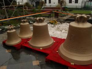 Noile clopote ale bisericii Domnesti Curtea Veche
