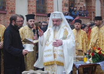 Patriarhul Romaniei a sfintit noile clopote ale Bisericii Domnesti de la Curtea Veche