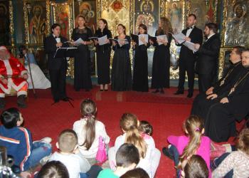 Concert de colinde la Biserica 'Sf. Anton - Curtea Veche'