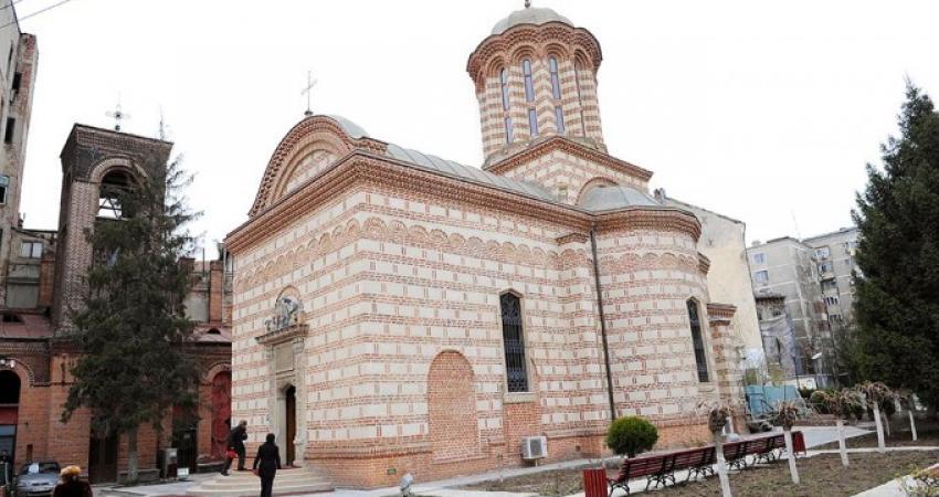 Hram istoric la Biserica Domneasca de la Curtea Veche