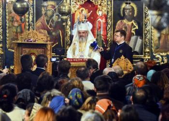 Patriarhul României la hramul istoric al Bisericii Domneşti de la Curtea Veche