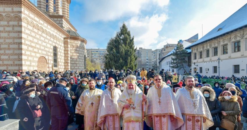 Parohia Sfântul Anton-Curtea Veche își sărbătorește ocrotitorul