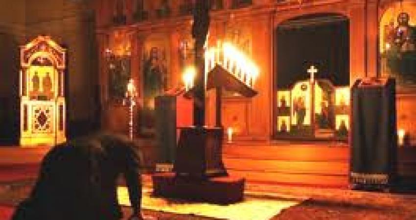 Rugaciunea de pocainta a Postului Sfintelor Pasti