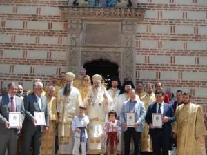 Binecuvantare patriarhala la Curtea Domneasca