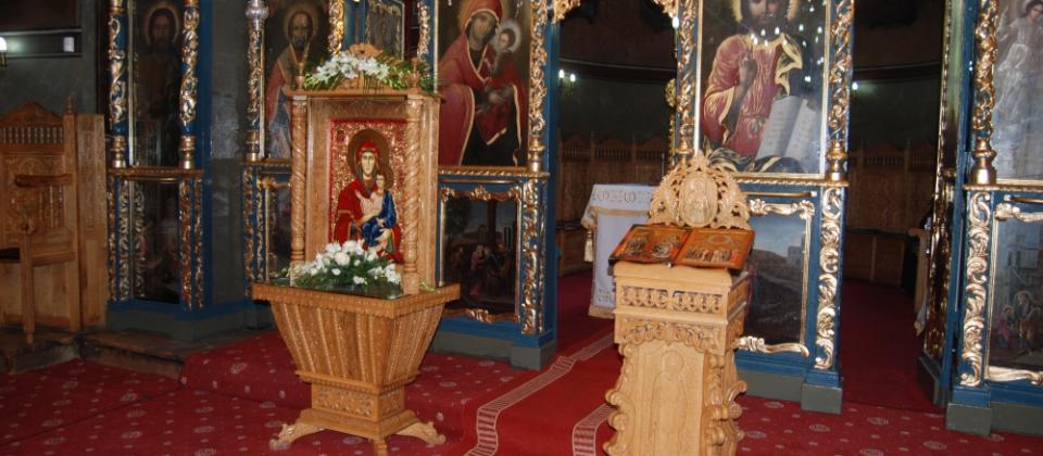 Interior Biserica Sfantul Anton